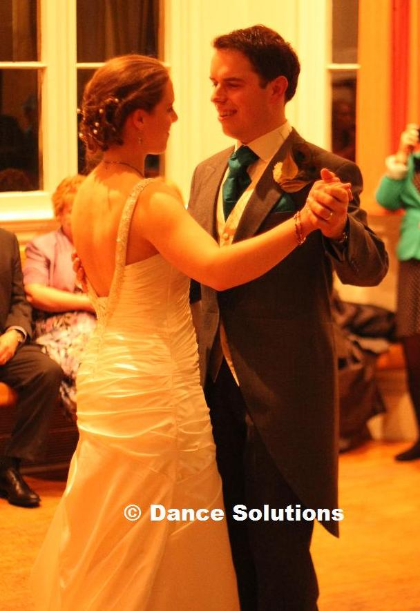 James and Robyn's first dance